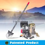 Hand Tool Handle Tool Auto Tuning Tool Multifunction Foldable Military Shovel Camping Shovel movel#DJSV-V II