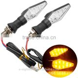 Universal New Motorcycle Waterproof 16 LED Turn Signal Yellow Light