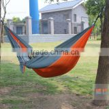 2017 Amazon hot sale Parachute Nylon Fabric Double Hammock- Portable Camping Hammock with free Straps and Carabiners