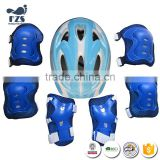 SKATE PROTECTION SET(One pair of knee pads, one pair of elbow pads and one pair of palm pads+helmet)