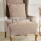 Stretch reclining wing chair covers