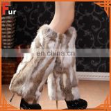 100% Real Rabbit Fur Leg Warmer