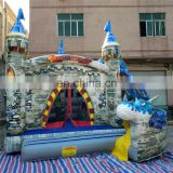 fancy giant used inflatable bouncer castle high quality kids jumping bouncer cartoon bouncer slide for commercial for sale