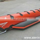 Hot water play equipment Inflatable fish boat