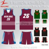 Hot Sale Cheap Reversible Sublimation Wholesale Blank Custom Laest Basketball Jersey Design