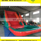 Available inflatable bouncy castle pool water slide 8mH/26ft