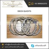 Top Quality Deck Quoits Ring Game Available in Custom Sizes and Logo