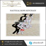 Classy Nautical Rope Keychain for Bulk Selling from Traditional Manufacturer at Amazing Price
