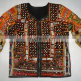 Ethnic Mirror Work Banjara Jackets Indian Vintage Embroidery Gypsy style winter wear Jacket Wholesale