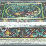 MEENAKARI PEACOCK DRYFUIT BOX/gift box set