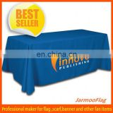 custom polyester promotional table drapes