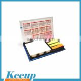 Customized sticky note pad combinations for advertising use