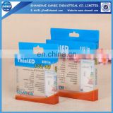 Custom plastic pvc packaging box
