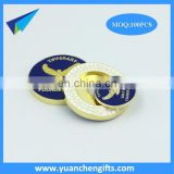 Golf club zinc alloy magnetic ball marker poker chips wholesale