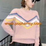 china factory wholesale woman velvet mink sweater