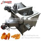 Electric Automatic Sunflower Seeds Garri Pie Crispy Chicken Wing French Fries Chin Chin Frying Machine For Snacks