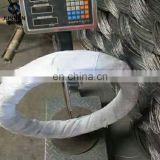 Factory supply best quality good hessian cloth iron wire rod coils for concrete wood steel nail