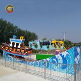 Zhengzhou Shenlong Kiddie Mini Electric Train Rids Rockin' Tug Drift Wave Boat