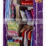 Moving Storage Sliding Wardrobe With Zipper Lock Cabinet