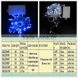 battery operated led light with 8function christmas lights for holiday decorations factory wholesaleled decorations in christmas