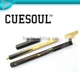CUESOUL 3/4 Hand Spliced snooker cue, excellent quality at low pricing, OEM Welcomed
