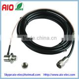 RF coaxial cable N male to UHF SO239 female RG58 | USA MADE RG-58u MIL-C-17 Coax with N to SO-239 - pl259 female - connectors, m