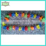 115cm-130cm hot sale cheapest silk flower hawaii plastic flower leis
