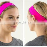 (Factory/low MOQ) sports yoga headband