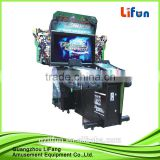 laser gun shooting simulator game machine
