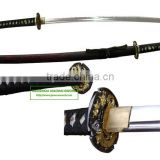 high quality damascus steel high carbon steel dragon handmade katana samurai sword HK061