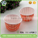 Standard size cupcake liners,cake container