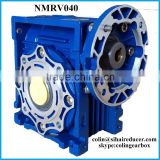 nmrv040 series heigh torque low speed worm gear box dc motor, power transmission