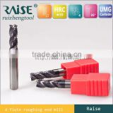 china Solid Carbide Micro Grain End Mills/DIN Standard Size End Mills Square Series Tool