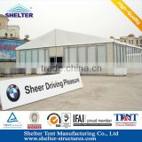 20m hard pvc glass window door storage tents with strong frame for 15 year long life span
