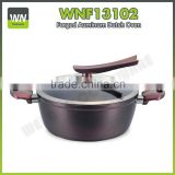 2016 New design different size avaibale mini nonstick/ceramic casserole hot pot aluminium rice pot