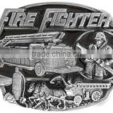Lead & Nickel Free!! Pewter Displays Firefighter Themed Items Metal Fridge Magnet