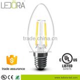 gp china led driver energy saving pioneer C35 small candle filament lights