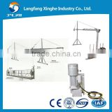 Hanging construction equipment/power lifting platform