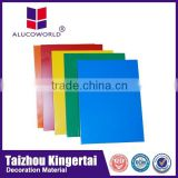 Alucoworld Good Fame ACP Panels Professional ACM Material fire resistant interior wall material