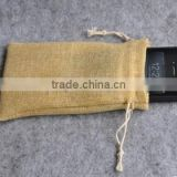 Small jute bag for mobile phone factory in china