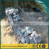 pvc coated gabion basket box/pvc coated basket/galvanized gabion retaining wall(Guangzhou Factory)