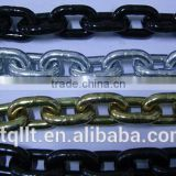 Chinese cheapest hot deep galvanized or zinc plated tow chain with eye grab hook on both ends