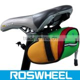 Wholesale hot sale colorful water proof expandable saddle bicycle bag 13567 wholesale bags bike handlebar bag