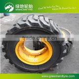 China supplier maintant loader tire / solid tire ,7.00-12 solid forklift tire,wheel barrow solid rubber tire