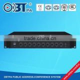 OBTPA Public address system audio zones amplifier /Mixer Power Amplifier with high quality and wholesale price