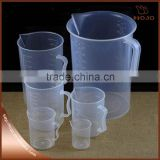 PP Polypropylene measuring plastic cup measuring cups graduated cups