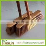 SINOLIN soft broom house cleaning product,factory direct sale durable plastic broom