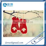 new arrival fashional beautiful ladies christmas gloves