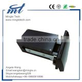 EMV certificated motorized motor- driven card reader for payment kiosk
