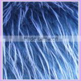 100%Acrylic long pile 65mm fake fur fabric jacquard tip print soft toys fur fabric animal fur teddy bear alibaba china supplier